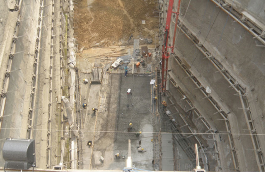 The Construction Requirements of Self Drilling Anchor Bar in Deep Foundation Pit