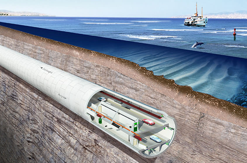 SK Undersea Tunnel Construction Wins Global Honor