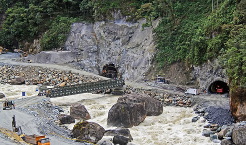 Sopladora Hydropower Plant Completed