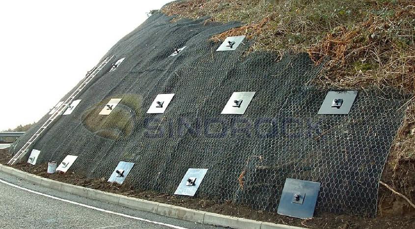 The Application of Sinorock® Self Drilling Anchor As Soil Nailing Wall