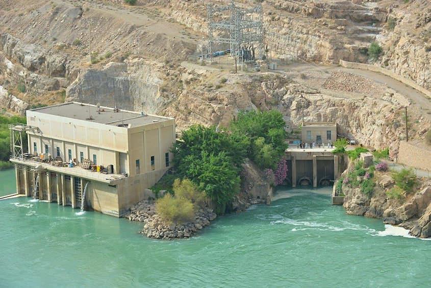 Kajaki Hydropower Station in Afghanistan