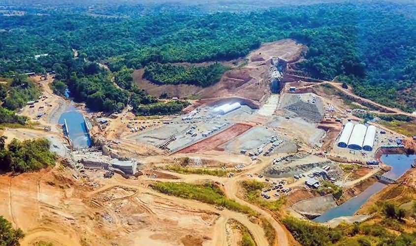 Foundation Stone Laying Ceremony of Kaluganga Dam Project
