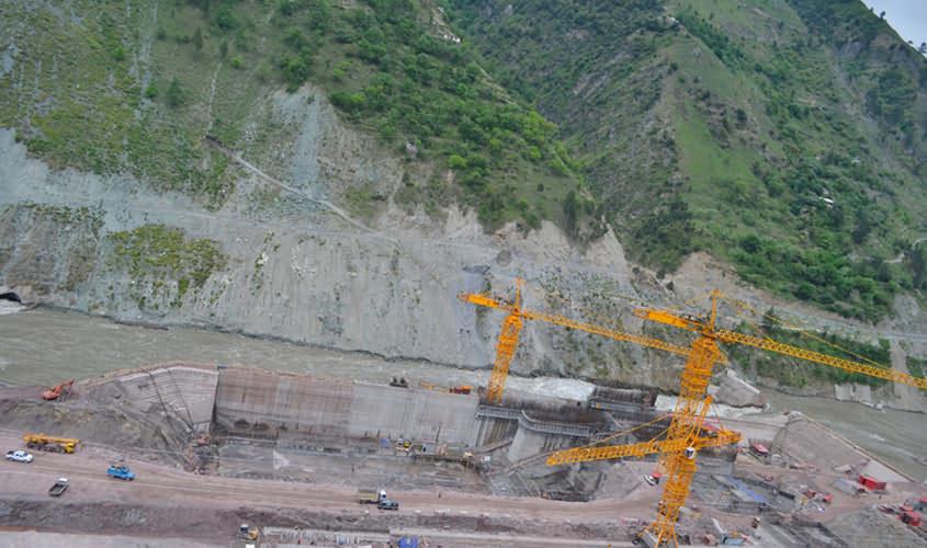 Under Construction Neelum-Jhelum Hydropower Plant